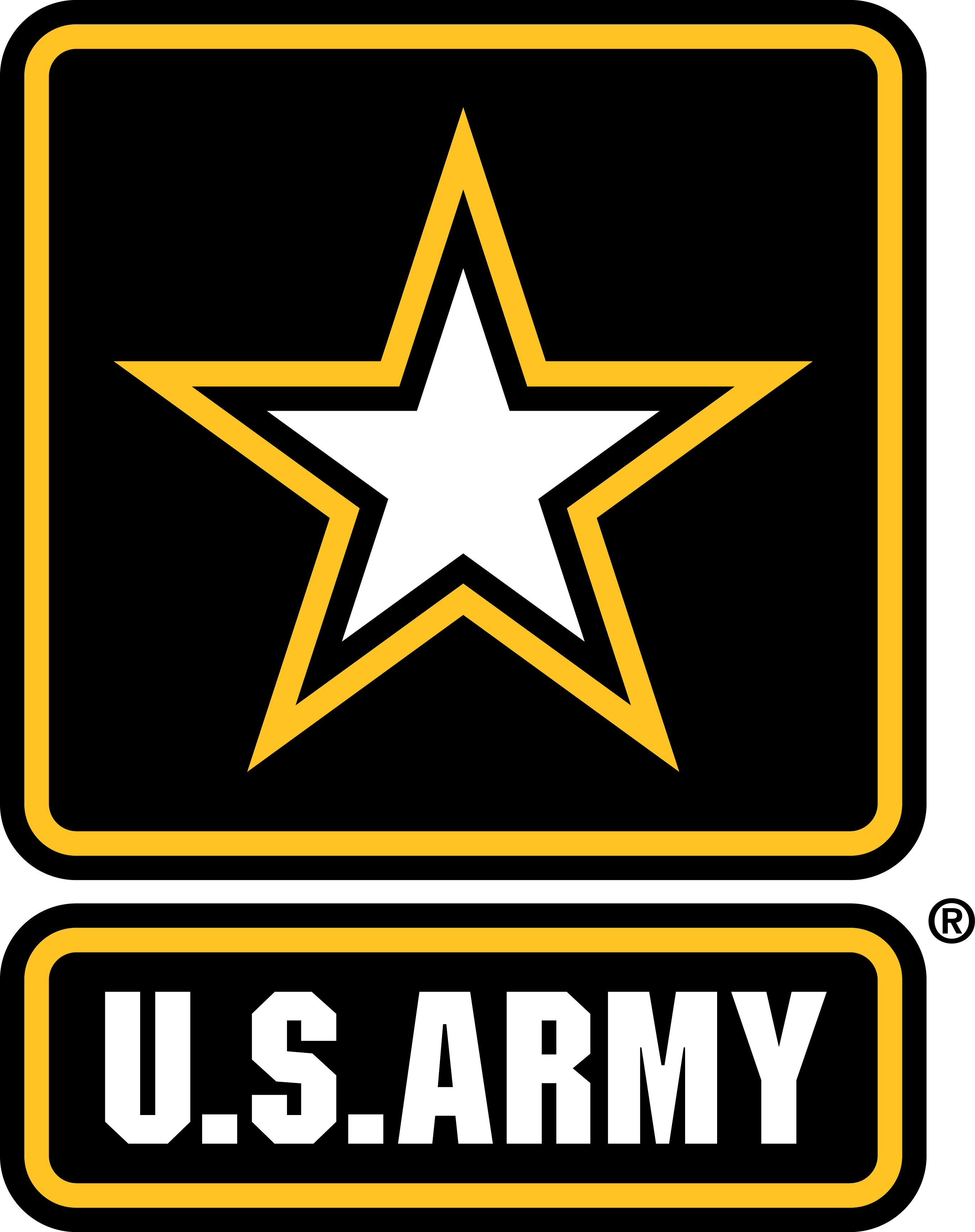 army_star_light_background